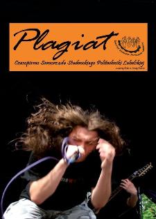 Plagiat : czasopismo Samorządu Studenckiego Politechniki Lubelskiej nr 2(2) maj 2007
