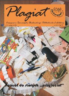 Plagiat : czasopismo Samorządu Studenckiego Politechniki Lubelskiej nr 3(3) październik 2007
