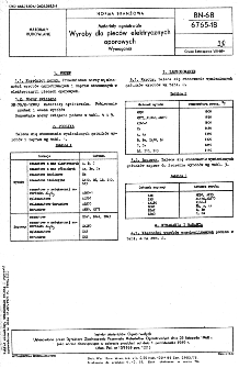 Materiały ogniotrwałe - Wyroby do pieców elektrycznych - Wymagania BN-68/6765-18