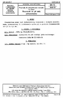 Przyrządy do przygotowania narzędzi do pracy - Rozwierak do pił stały jednoramienny BN-75/1661-01