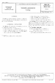 Narzędzia gospodarcze - Łomy BN-86/4515-02