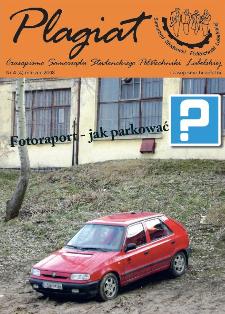Plagiat : czasopismo Samorządu Studenckiego Politechniki Lubelskiej nr 4(4) marzec 2008