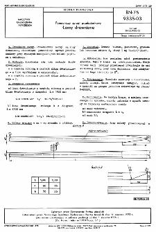 Pomocniczy sprzęt przeładunkowy - Łomy drewniane BN-75/9335-03