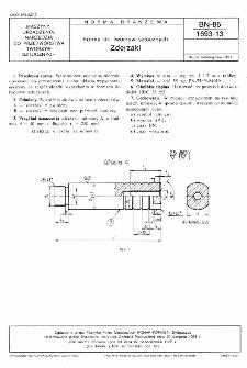 Formy do tworzyw sztucznych - Zderzaki BN-86/1693-13