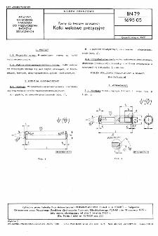 Formy do tworzyw sztucznych - Kołki walcowe precyzyjne BN-79/1695-05