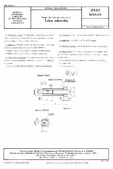Formy do tworzyw sztucznych - Tuleje zabieraka BN-80/1696-04