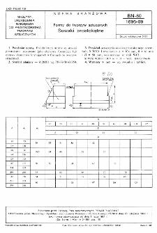 Formy do tworzyw sztucznych - Suwaki prostokątne BN-80/1696-09