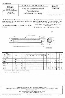 Formy do tworzyw sztucznych - Przedłużacze końcówek do węży BN-83/1697-03